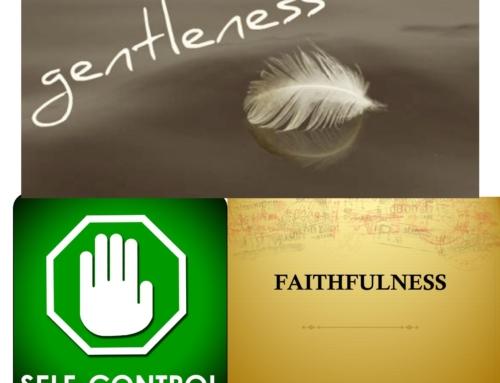 The Fruit of the Spirit Part 3 – August 15, 2021 – Pastor Zachary Samuelson